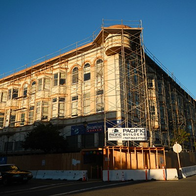 Carson Block Building Restoration - On the Corner