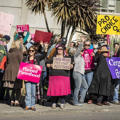 Eureka Planned Parenthood Rally