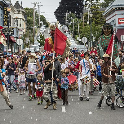 Arcata Fourth of July 2017
