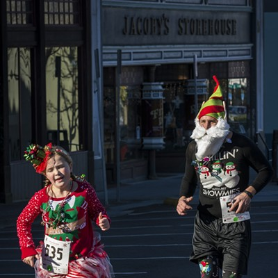 Ugly Sweater Holiday Race 2017