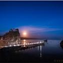 North Coast Night Lights: Trinidad Head Under a Full Moon