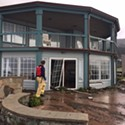 Eight Shelter Cove Homes Damaged as Massive Waves Pound the Coast