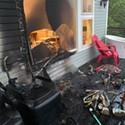 Enlightening Strikes: SoHum Meditation Instructor's Home Set Ablaze by Lightning