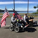 Local Veteran Rolls Through Humboldt to Raise Awareness for Suicide Prevention