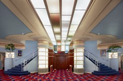 RYAN FILGAS - The theatre lobby.