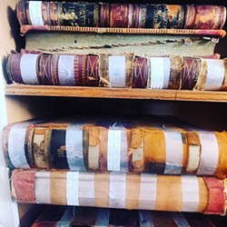 Humboldt County Jail Register books dating back to 1888.