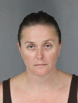 HUMBOLDT COUNTY SHERIFF'S OFFICE - Marci Kitchen's Sept. 3 jail booking photo.