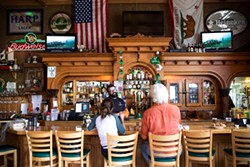 ROCKY ARROYO - The bar in Gallagher's Irish Pub