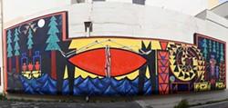 "DREW HYLAND - ""Indian Island - The Sun Set Twice on the People""."