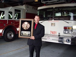 FILE - Tim Smith at the Fortuna Volunteer Fire Department.