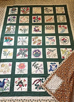AMBER AND PAUL WOODWORTH - Wedding quilt.