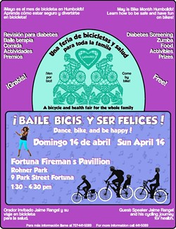 ¡Baile, Bicis, ser Felices! Bilingual bike and health fair. - Uploaded by mpostman71