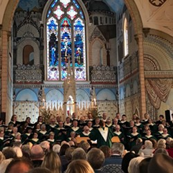 Ferndale Community Choir, Catholic Church, 2018 - Uploaded by ferndalechoir