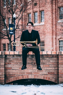 Trombonist Craig Hull - Uploaded by fredbaby