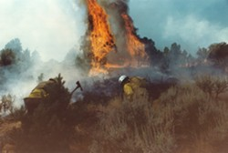 Where There's a Fire . . . - Uploaded by Susan Parsons 1