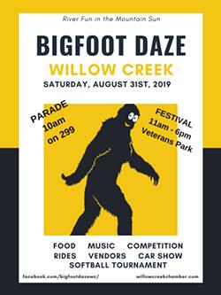 Bigfoot Daze Poster - Uploaded by wcchamber