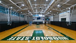 Lumberjack Arena, home of Humboldt State basketball and volleyball. - Uploaded by Andrew Goetz