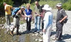 Sarah Kupferberg with ERRP Volunteers - Uploaded by Patrick Higgins