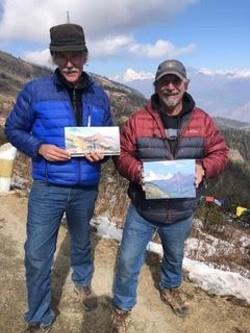 Stock Schlueter and Paul Rickard in Bhutan - Uploaded by Paul Rickard