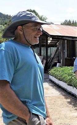 J.A. SAVAGE - Mikal Jakubal at Plant Humboldt nursery.