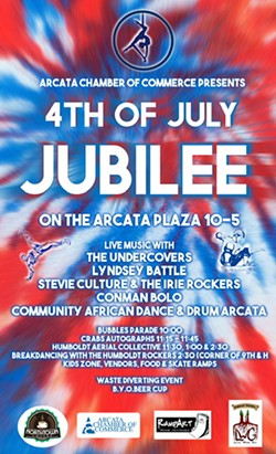 4th of July Jubilee Flyer - Uploaded by Amanda Masse