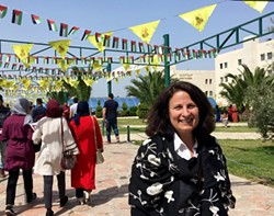 Prof. Janet Winston at An-Najah National University - Uploaded by JM