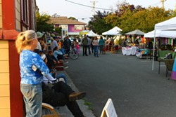It's the best parts of a Flea Market and an Art Market combined! Come to the FleArt Market! - Uploaded by Arcata Playhouse