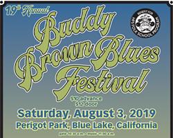 Buddy Brown Blues Festival 2019 - Uploaded by Greg Gehr