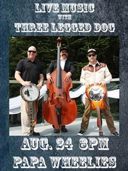 Three Legged DOg - Uploaded by Christie