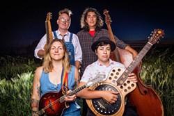 The Albanie Falletta Band - Uploaded by Katy Warner