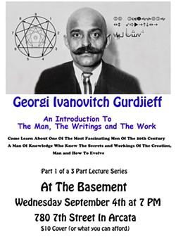 Gurdjieff Poster - Uploaded by rybopp