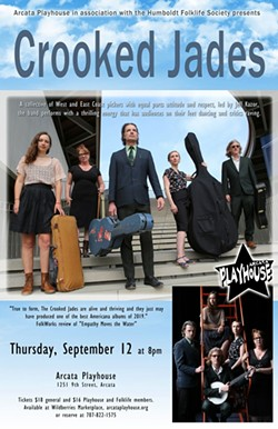 Crooked Jades Arcata Playhouse poster - Uploaded by boodog