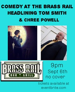 Comedy At The Brass Rail - Uploaded by Danny Minch