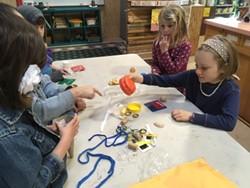 Have fun creating your very own creative, and sustainable art projects in SCRAP Humboldt's awesome Education Studio during their Camp SCRAP November Single-Day Camps, 8:30-3:30 p.m. November 25th, 26th and 27th. - Uploaded by Education SCRAP Humboldt