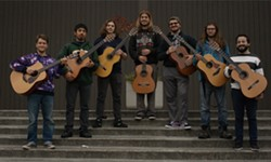 Members of the HSU Guitar Ensemble - Uploaded by fredbaby