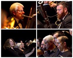 Celebrate the holiday season with the Eureka Symphony and Eureka Symphony Chorus - Uploaded by Eureka Symphony