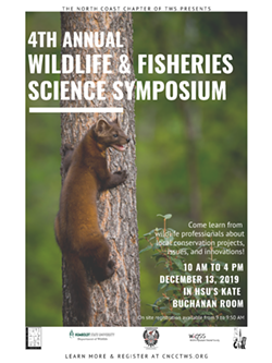 CNCC 4th Annual Wildlife and Fisheries Science Symposium - Uploaded by Jen Olson