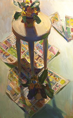 "SUBMITTED - Painting by Boyd Gavin in ""Gifts of Art,"" 20th anniversary exhibit at the Morris Graves Museum of Art."