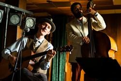 James Zeller croons with the J Street Regulars - Uploaded by Katy Warner