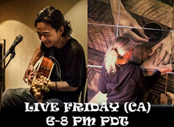 music from Tokyo, Japan livestream with art in Humboldt CA - Uploaded by Emily Reinhart