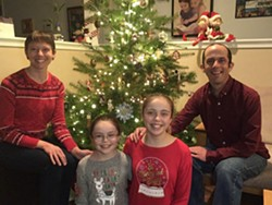 The Pitts Family ready for Christmas! - Uploaded by cabifi