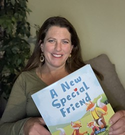 Author Tamar Burris with her new book - Uploaded by CS_Eureka