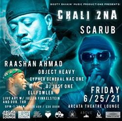 Chali 2na, Scarub, Raashan Ahmad - Uploaded by Promoter