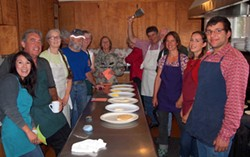 Mattole Grangers Ready to Feed You! - Uploaded by Michael Evenson1