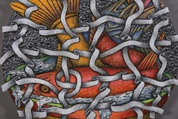 Louis Marak, Fish Net Bowl