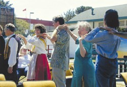 Folk Dancing at Humboldt County Fair - Uploaded by eurmac