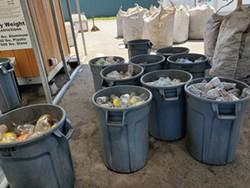 COURTESY OF RANDY SCOTT - Hambro Recycling in Crescent City.