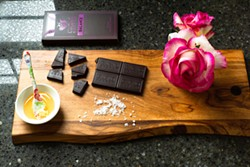 DAVE WOODY - Himalayan salt, honey and organic single-origin Fairtrade cacao form the base of Cacao Cocoon's chocolate bars.