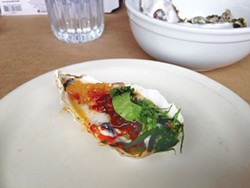JENNIFER FUMIKO CAHILL - Sushi Spot's spicy little Goose Point winner.