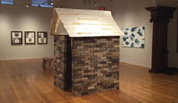"""PHOTO BY GABRIELLE GOPINATH - Lori Goodman's """"House for Morris"""" at the Morris Graves Museum of Art."""